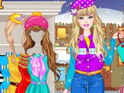 Barbie Winter Shopping