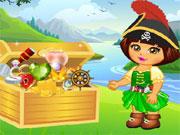 Dora Pirate Treasure Finding